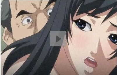 【エロアニメ】盗撮映像で脅迫されて管理人に犯された若妻