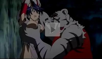 【エロアニメ】虎や狸の獣人になぶりものにされた母娘