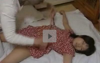 【40代独身坊主頭の男】眠れるマンションの美少女プレイ 中年おやじが隣に住む女子校生の身体をむさぼる