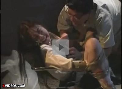 【懐かしのAV】極悪非道レイプ 加藤鷹・山本竜二が生意気な女子校生を凌辱 泣き叫ぶJKをキモい掃除婦と教師が輪姦