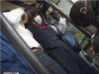 マスクのJKを狙う