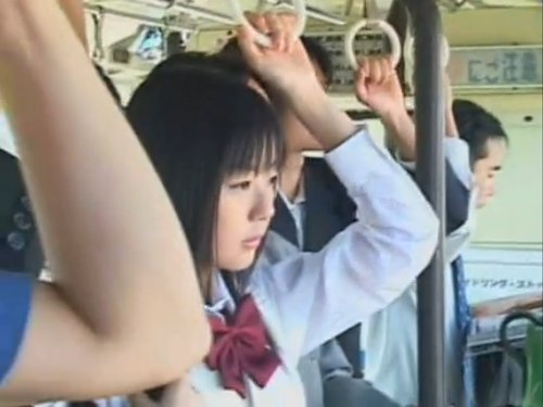 【つぼみ】バスの車内で猥褻行為 コスプレ七変化のつぼみを犯す痴漢たち 女子校生・OL・ナース ある時は拉致・拘束されてレイプ