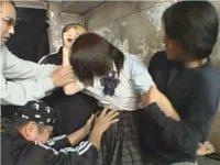 女子校生が襲われた