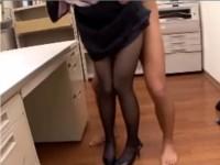 黒ストッキングのエロ動画