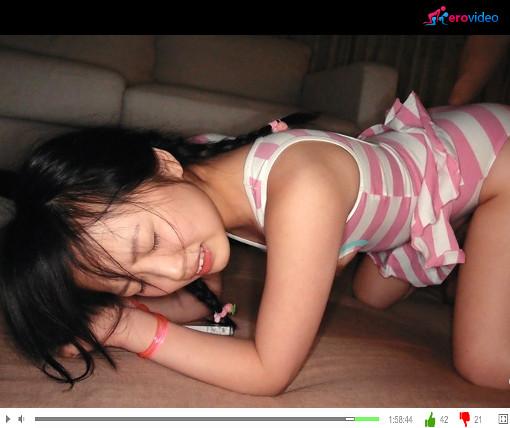【美少女エッチ動画】性知識の無い幼い美少女に性教育ww 松下ひかり