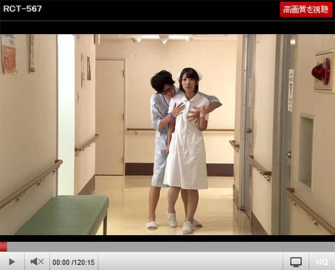 時間が止まる腕時計をゲット!さて、憧れの美人看護師さんの更衣室に潜入して…