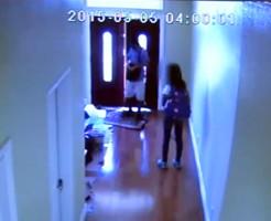 監視カメラ映像13歳の少女が…
