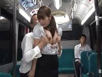 バスの中でも学校で犯される女教師