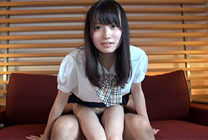 大島優子似のJKが円光